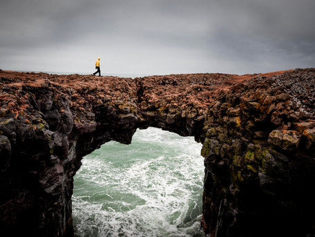 Exploring the Snaefellsness Peninsula in Iceland