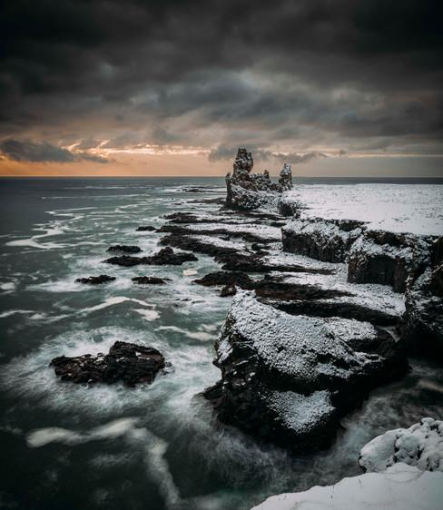 Iceland Seastacks