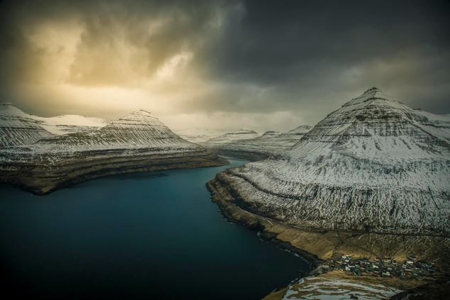 Faroe Islands fjord