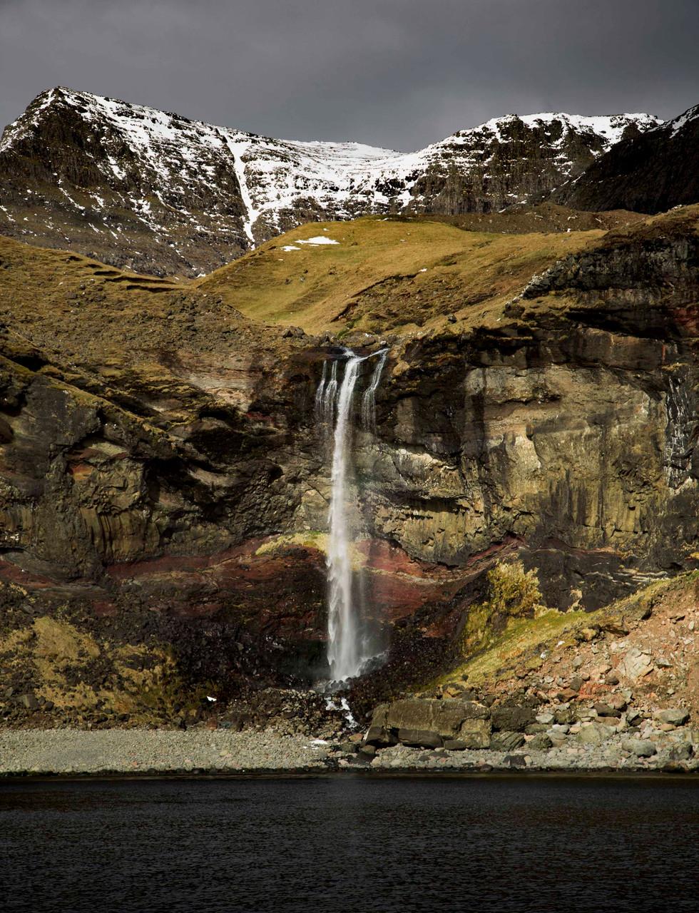 Vagar waterfall