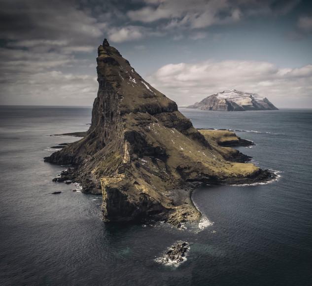 Tinholmur island in the Faroe Islands
