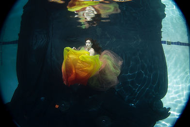 backdrop used for underwater photography