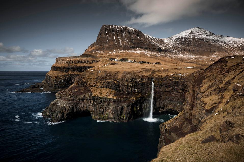 Gasadalur in the Faroe Islands