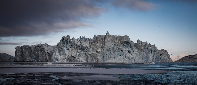 Iceberg in Disko Bay Greenland by landscape photographer Matt McGee