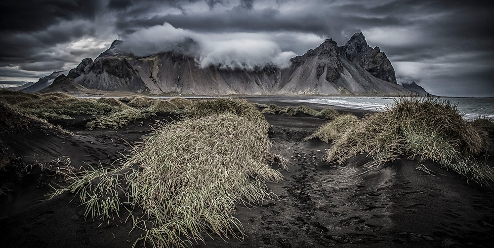 Vestrahorn mountain is on the east coast of Iceland. Photograph by landscape photographer Matt McGee