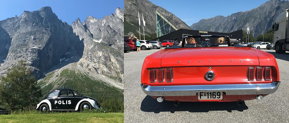 Den 1000 meter höga Trollveggen och en cool V8...