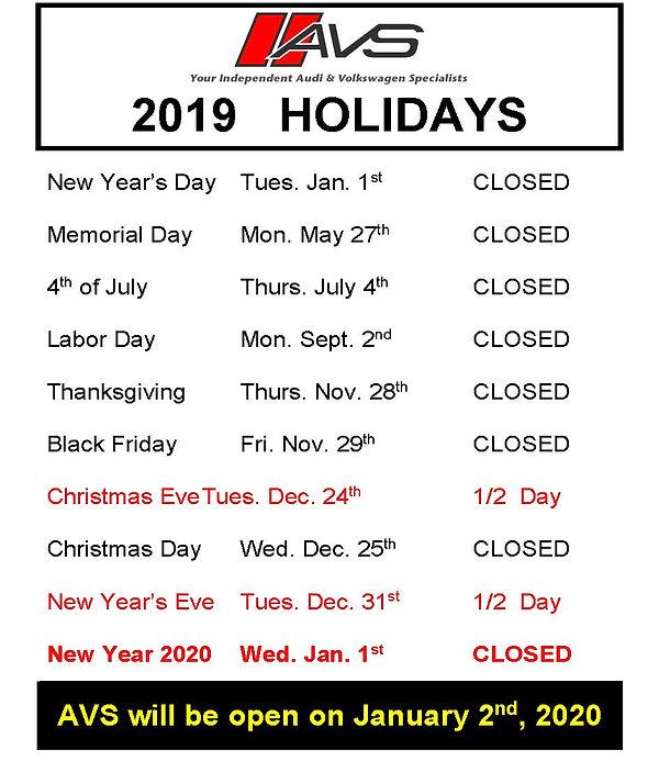 AVS Holidays 2019 Listed_9.4.2019 doc.jp