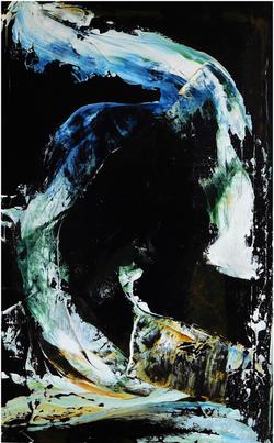 Black Seas 30x48-Ingrid Cohen
