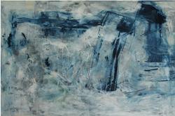 The Mohel Wore Blue 36x40-Ingrid Cohen