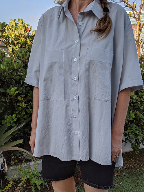 Oversized Buttoned Down Shirt