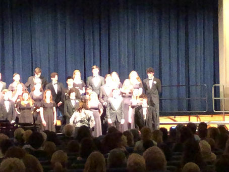 """GVHS Chamber Singers - """"Live On"""""""
