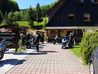 Motorradgruppe aus Wolfsburg