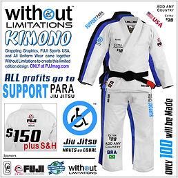 Para Jiu Jitsu Kimono