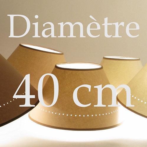 Abat-jour Classique diamètre 40 cm