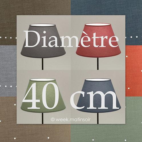 Abat-jour Empire diamètre 40 cm
