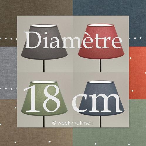 Abat-jour forme Empire 18 cm