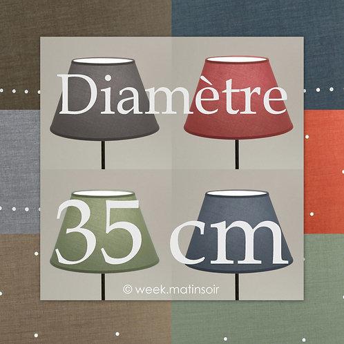 Abat-jour Empire diamètre 35 cm