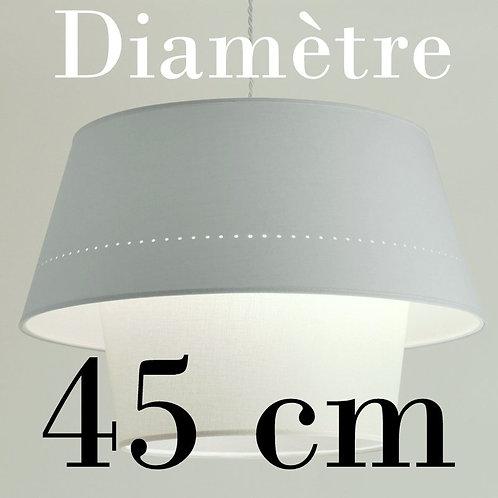 Suspension DimDam,  diamètre 45 cm.