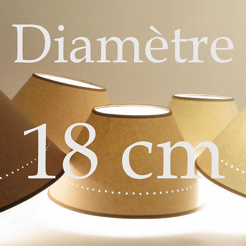 abat-jour conique diamètre 18 cm