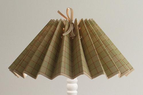 Abat-jour plissé tissu Tapissier.