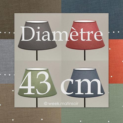 Abat-jour Empire diamètre 43 cm