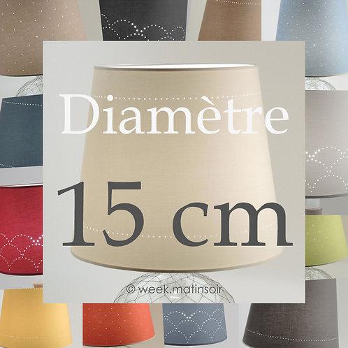 Abat-jour lampe club 15 cm