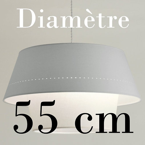 Suspension DimDam,  diamètre 55 cm.