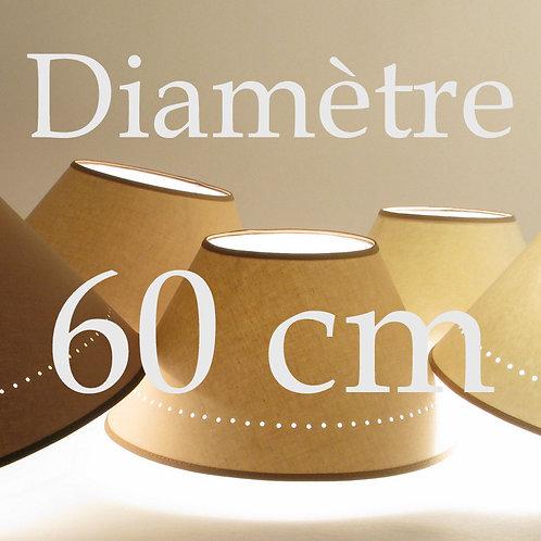 abat-jour conique diamètre 60 cm