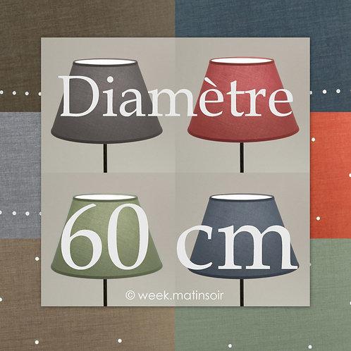 Abat-jour Empire diamètre 60 cm