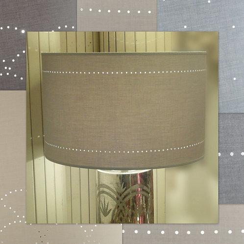 grand abat-jour cylindrique tambour diamètre 55 cm