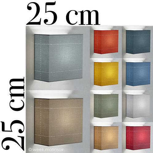 Applique murale Carré 25 x 25 cm