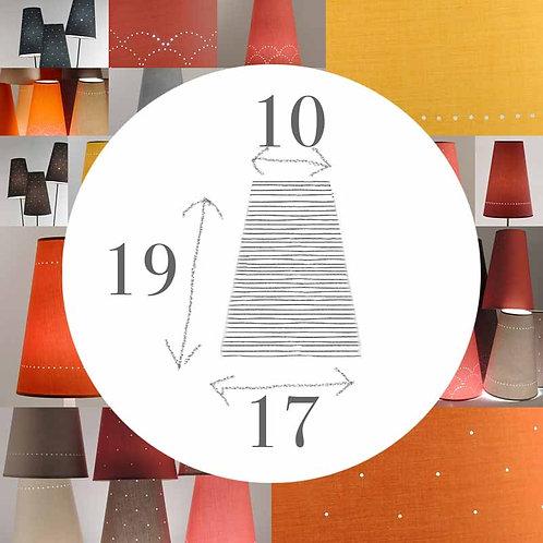 Abat-jour Pointu, 17 x 19 x 10 cm