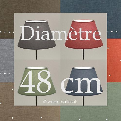Abat-jour Empire diamètre 48 cm