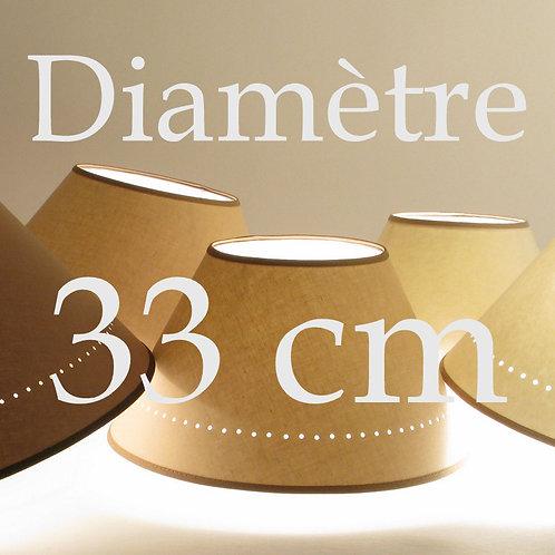 Abat-jour Classique diamètre 33 cm
