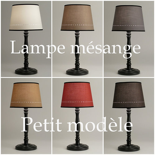 Lampe Mésange petit modèle.