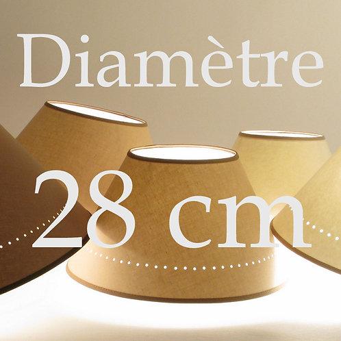 Abat-jour Classique diamètre 28 cm