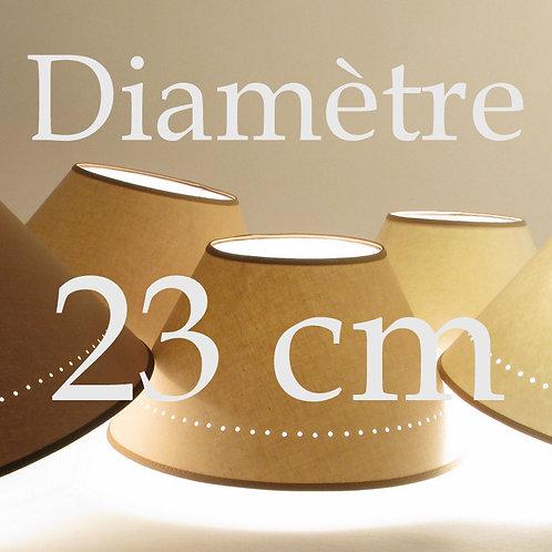 Abat-jour Classique diamètre 23 cm