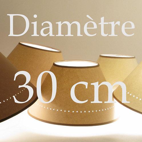 Abat-jour Classique diamètre 30 cm