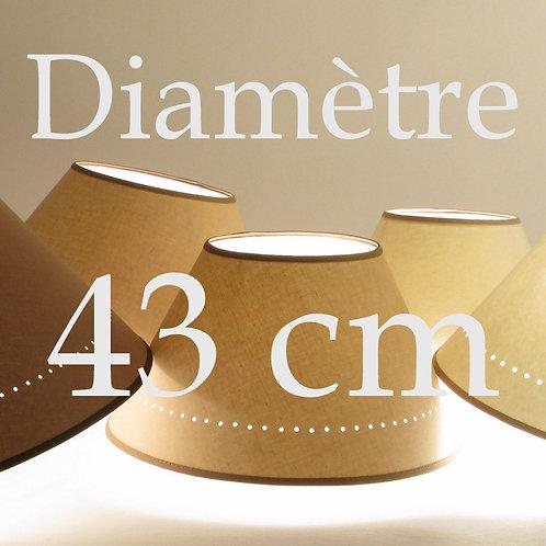 Abat-jour Classique diamètre 43 cm