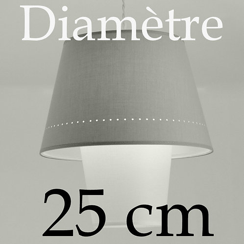 Suspension DimDam,  diamètre 25 cm.