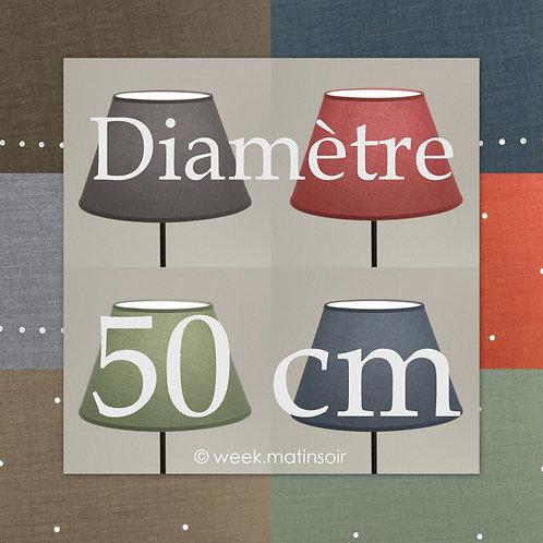 Abat-jour Empire diamètre 50 cm