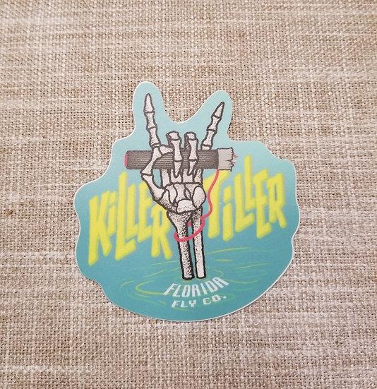 Killer Tiller Sticker