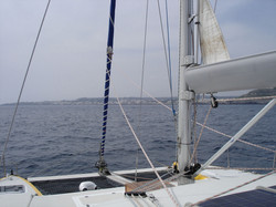 navigationslinien segeltörn