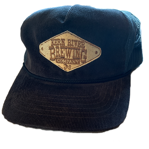 Corduroy mesh back hat