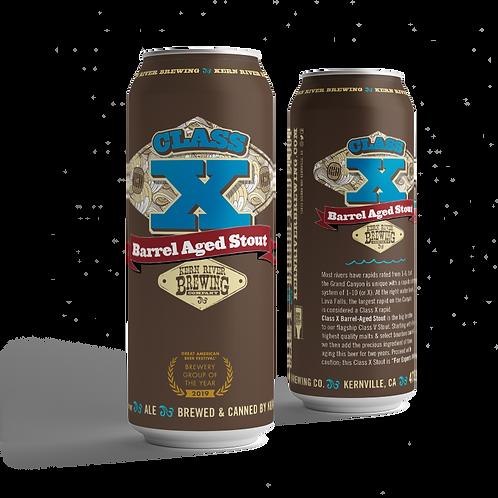 Barrel Aged Class X Stout