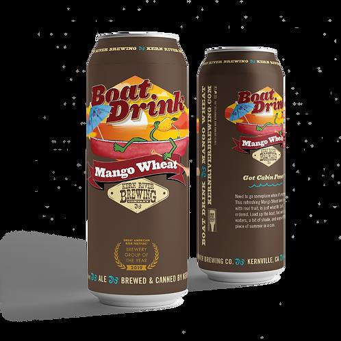 Boat Drink Mango Wheat Ale