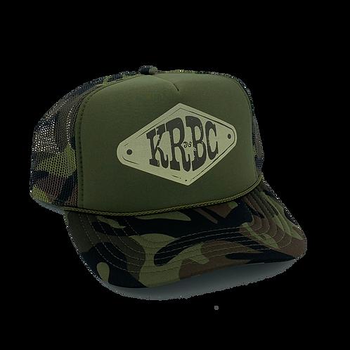 Camo Foam Hat