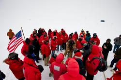 2014 South Pole Marker Ceremony