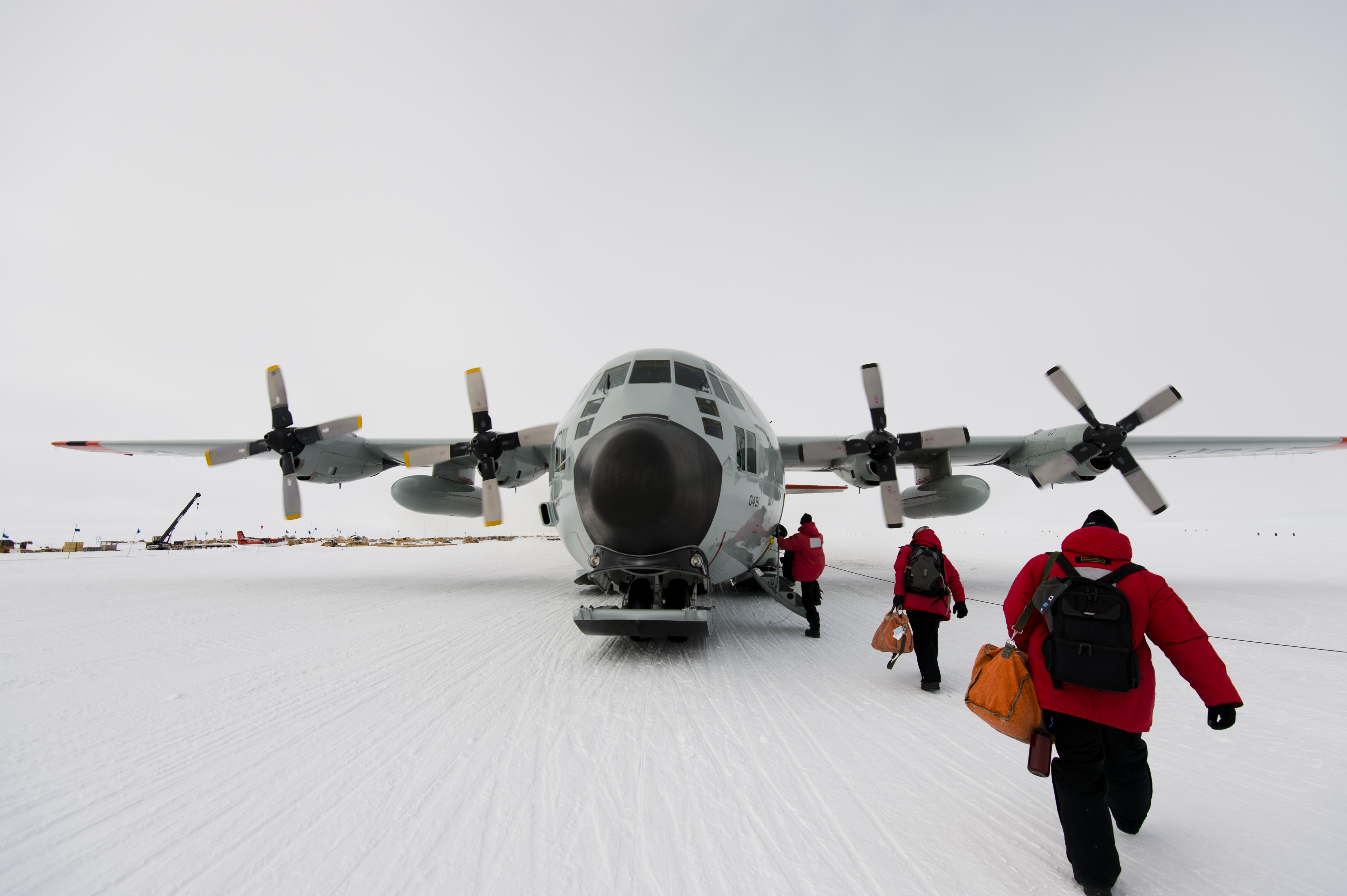 South Pole C130