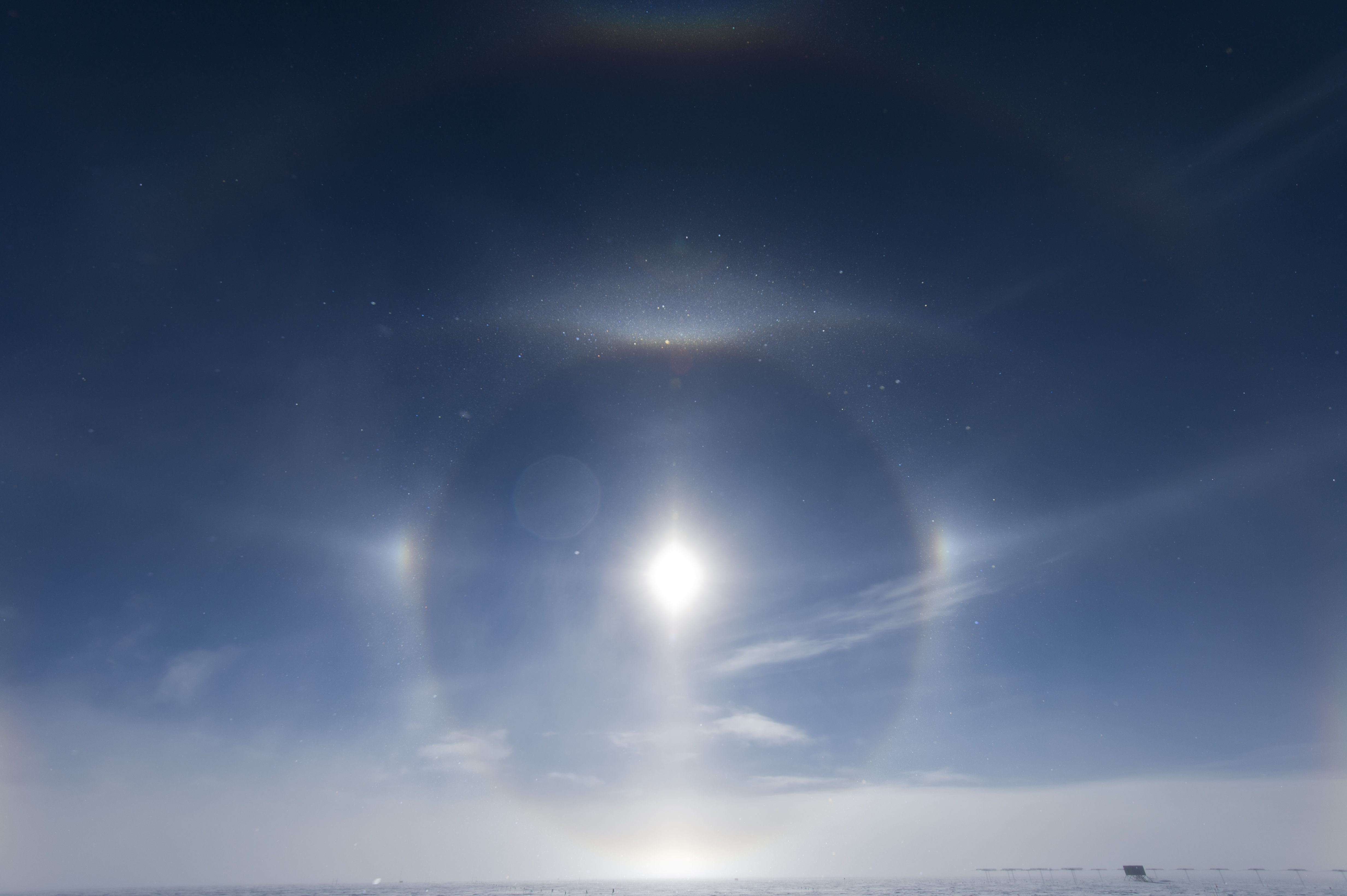 South Pole Sundog